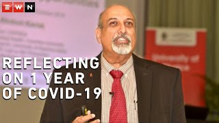 Epidemiologist, Professor Salim S. Abdool Karim, co-chair of the Ministerial Advisory Committee on COVID-19 reflected on the past year, highlighting key issues relating to epidemic.  #Covid19news #CoronavirusSA
