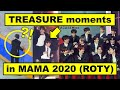 12 things TREASURE, YG, & MNET did in MAMA 2020 that you didn't notice but should know!  YG Fam