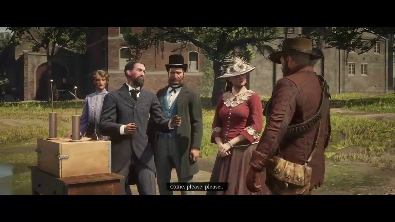 Red dead redemption 2 - Professor Marko Dragic - Tesla