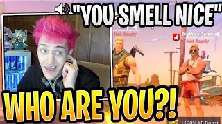 Ninja Confused at Random Guy Secretly in His Discord! - Fortnite Best and Funny Moments
