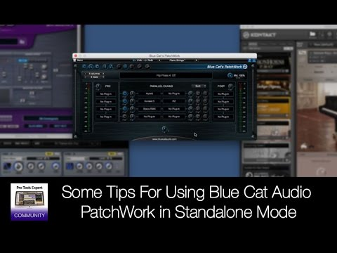 some tips for using blue cat audio patchwork in standalone mode youtube. Black Bedroom Furniture Sets. Home Design Ideas