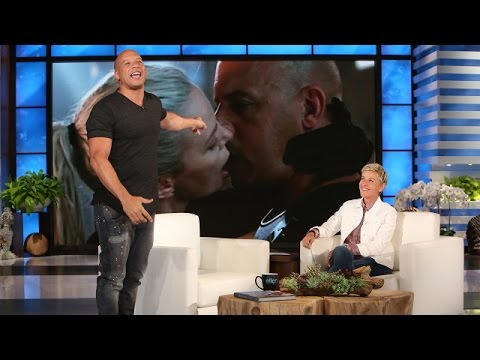 Vin Diesels Side of the Charlize Theron Kiss Story