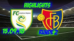 Highlights: Fc Echallens vs Fc Basel (15.09.18)