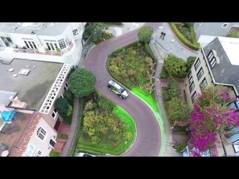 NVIDIA 'BB8' AI Self-Driving Car Takes on Lombard Street