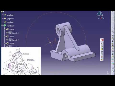 02 Catia Tutorial-1 (Solid Modeling tutorial -1)