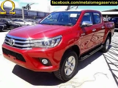 nova toyota hilux 2016 youtube. Black Bedroom Furniture Sets. Home Design Ideas