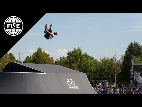 FISE Budapest 2017: FIRS Roller Freestyle Park World Cup Semi Final - REPLAY