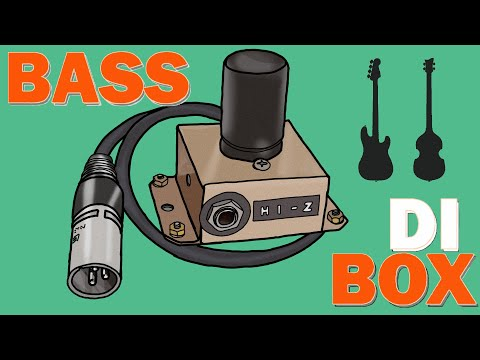 MotorCity Bass DI Box DIY BUILD W/ Transformer MAKE YOURS