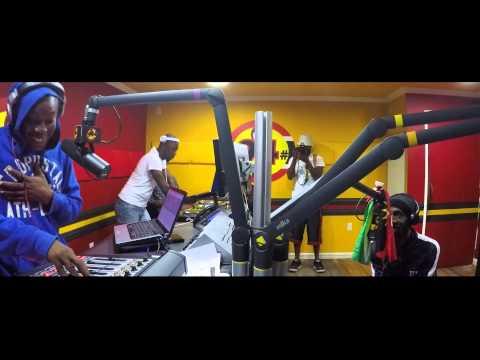 We Represent promo tour Guyana Promise No Promises at Boom FM