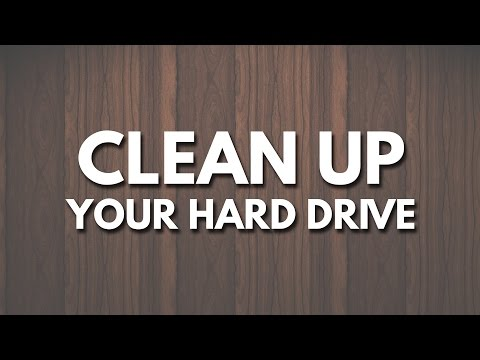 How To Easily Clean Up Computer Hard Drive with Disk Inventory X