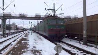 Vlak 108Ш Одеса Головна-Ужгород (Odessa Holovna-Uzgorod)