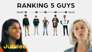 Ranking Men By Attractiveness | 5 Guys vs 5 Girls