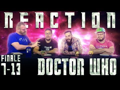 """Doctor Who 7x13 REACTION!! """"The Name Of The Doctor"""""""