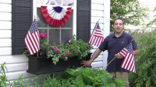 The Window Box Guy™ 732-895-6262 Decorating Window Boxes, Holidays, Seasons, Big Bloom Tip