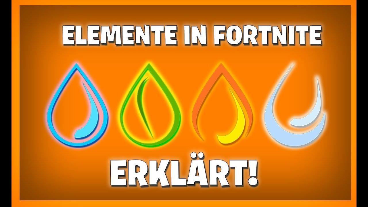 Fortnite Elemente