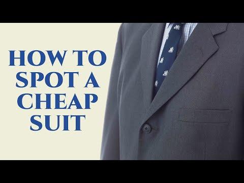 How To Spot A Cheap Suit - Gentleman's Gazette