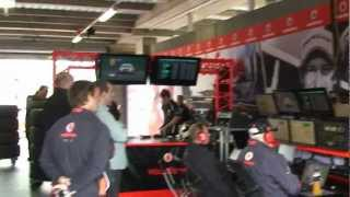 In the Pits with Team Vodafone at Bathurst