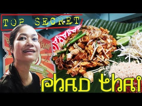 SECRET TO THE BEST PAD THAI RESTAURANT IN BANGKOK THAILAND