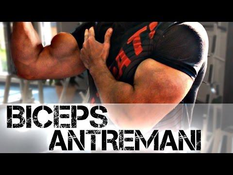 BICEPS ANTRENMANI / Iri Kol Kasları İçin - KOL Geliştirme Egzersiz / Hareketleri Shredded Brothers