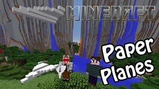 Paper Planes in Minecraft