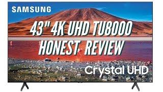 Samsung 43-inch Crystal UHD TU8000 Series Honest Review