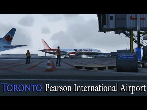 FSX - Air Canada (Fictional Livery) 777-200 to Toronto