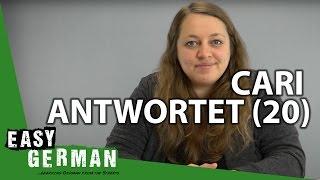 Cari antwortet (20) - Deutsche Identität | deutsche Aberglauben | Möchten und Wollen