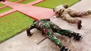 Fisik Gak Kalah Adu Skill Tni Indonesia Vs Tentara Amerika