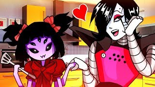 Cooking With Mettaton & Muffet! Funny Cinematic Undertale AU Animation Roleplay
