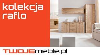 Recenzja: Kolekcja Raflo, Black Red White - TwojeMeble.pl