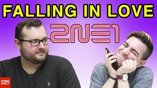 2ne1 falling in love • fomo daily reacts
