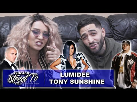 Lumidee & Tony Sunshine Talk Truth On Cardi B! Pitbull! Fat Joe! & MORE! 2018
