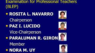 All About PRC LET | Teachers Board Exam
