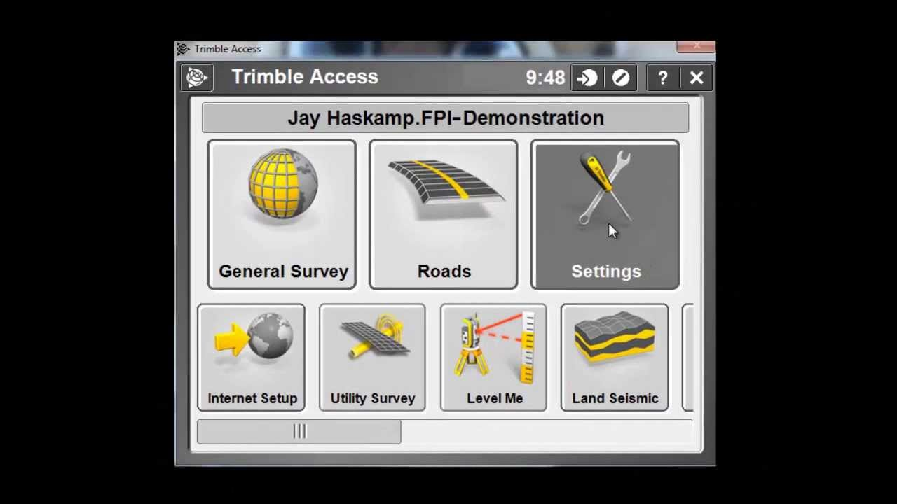 Base & Rover Settings for an RTK Survey Style