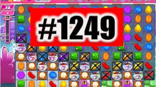 Candy Crush Saga Level 1249 NEW! Complete!