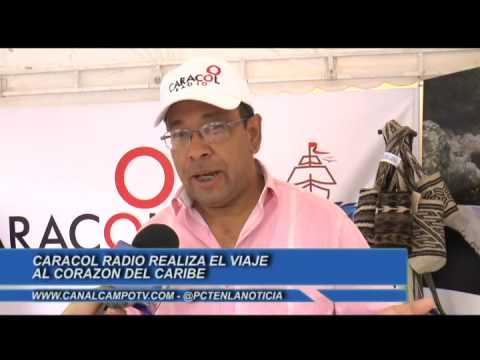 Santa Marta en el 'viaje al corazón del Caribe' de Caracol Radio