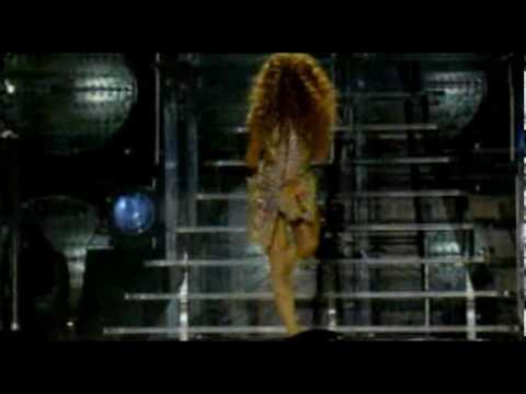 Abertura do Show da Beyoncé em São Paulo/Brasil - Crazy In Love (HQ)