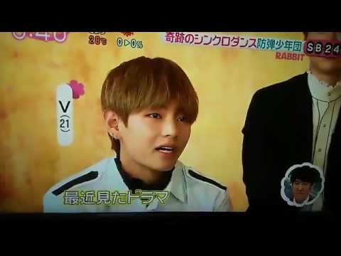 BTS at Nippon TV Zip! Interview