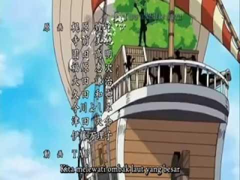 Perpisahan GOING MERRY | Lirik Dear Friend One Piece Bahasa Indonesia