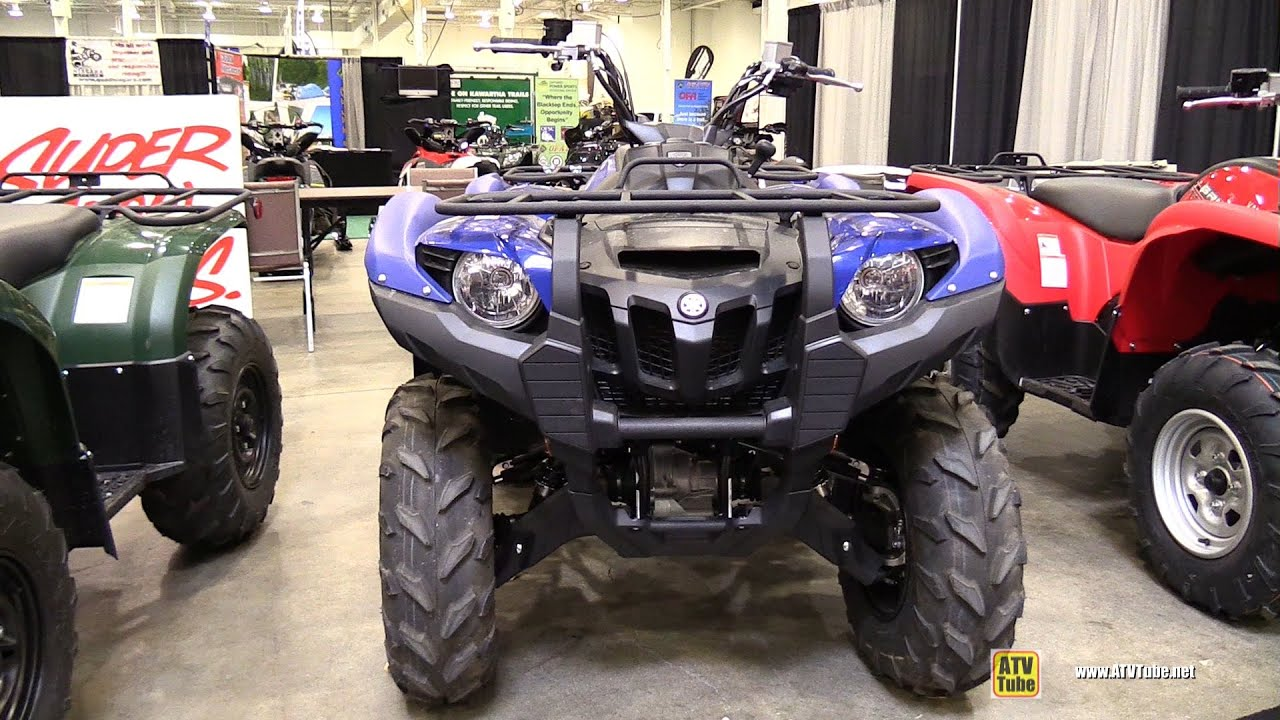 2014 yamaha grizzly 550 exterior walkaround 2014 for 2014 yamaha atv