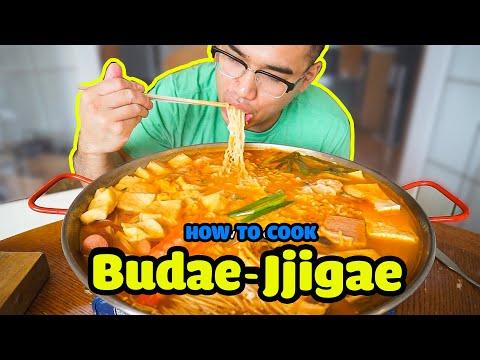 How to cook BUDAE JJIGAE (Korean Army Stew)