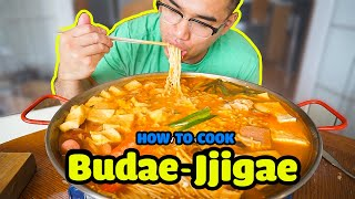 How to cook BUDAE JJIGAE (Korean Army Stew)