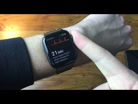 Apple Watch Series 4 ECG/EKG Overview