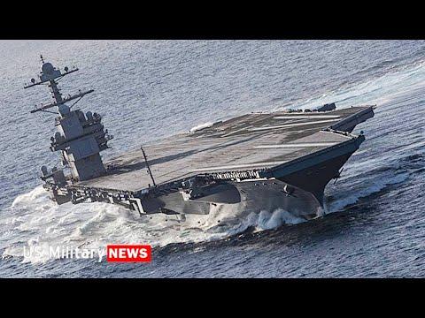 美军最先进福特级航母在大西洋进入实战准备 空中战斗力更强大(图/视频)