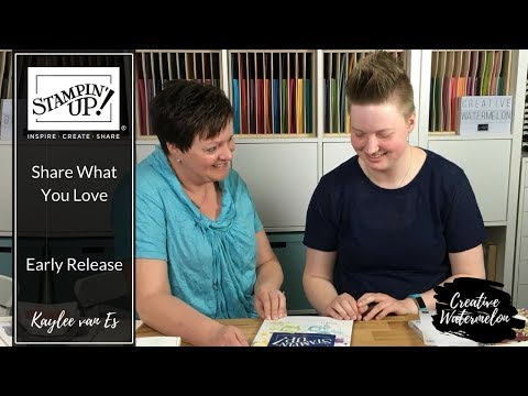 Stampin' Up! Nederland - Share What You Love