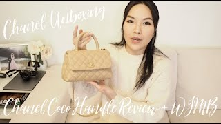 【開箱分享????】Chanel Unboxing + Coco Handle Review | ANGELBIRDBB