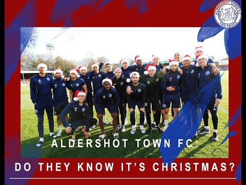 Aldershot Town Football Club: Do They Know It's Christmas? (Charity Cover)