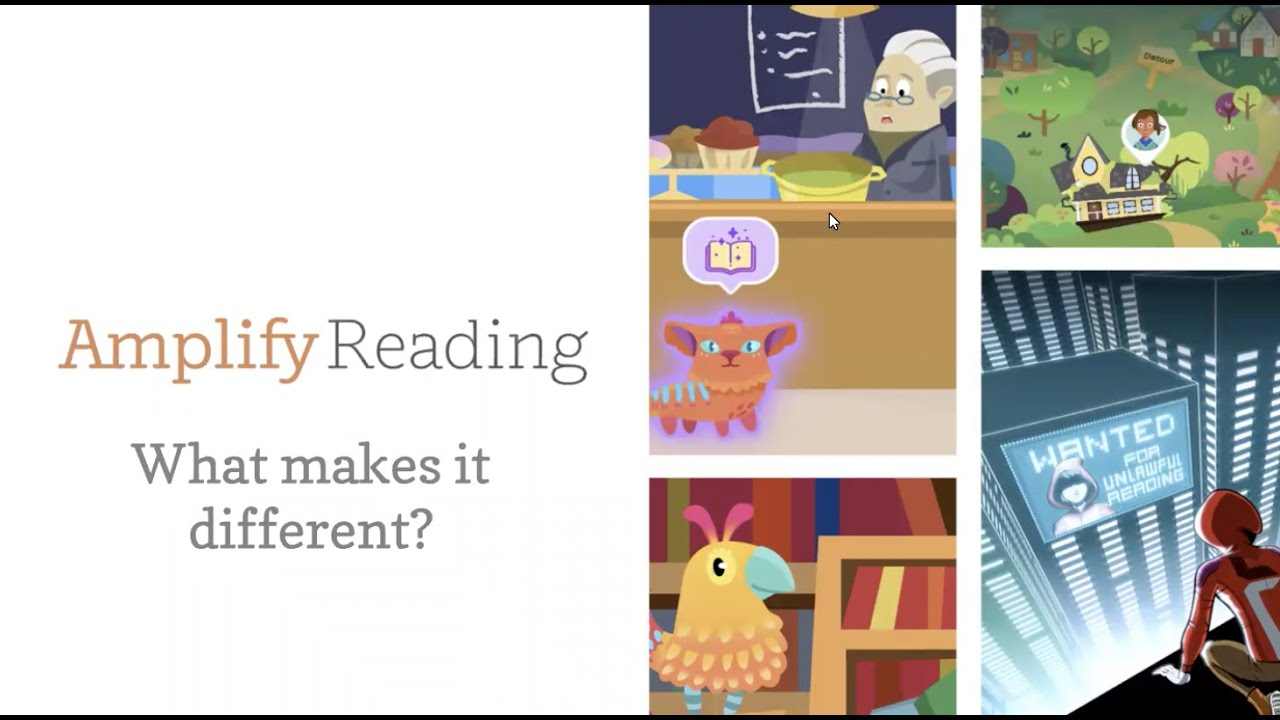 Amplify Reading: What Makes It Different?