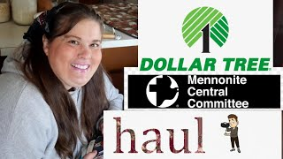 MCC Thrift With Me // Dollar Tree Haul .Look What I Found