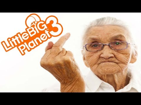 ATTACKED BY GRANDMA! | Little Big Planet 3 Multiplayer (125)